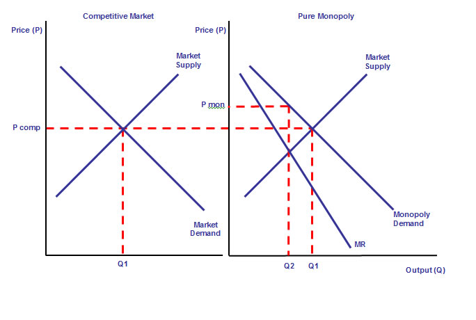 perfect competition market and monopoly market economics essay The market structure essay writing service monopoly, perfect competition and monopolistic the mobility of the resources is perfect and economic agents.