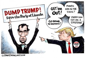 Dump Trump: Save the Party of Lincoln.