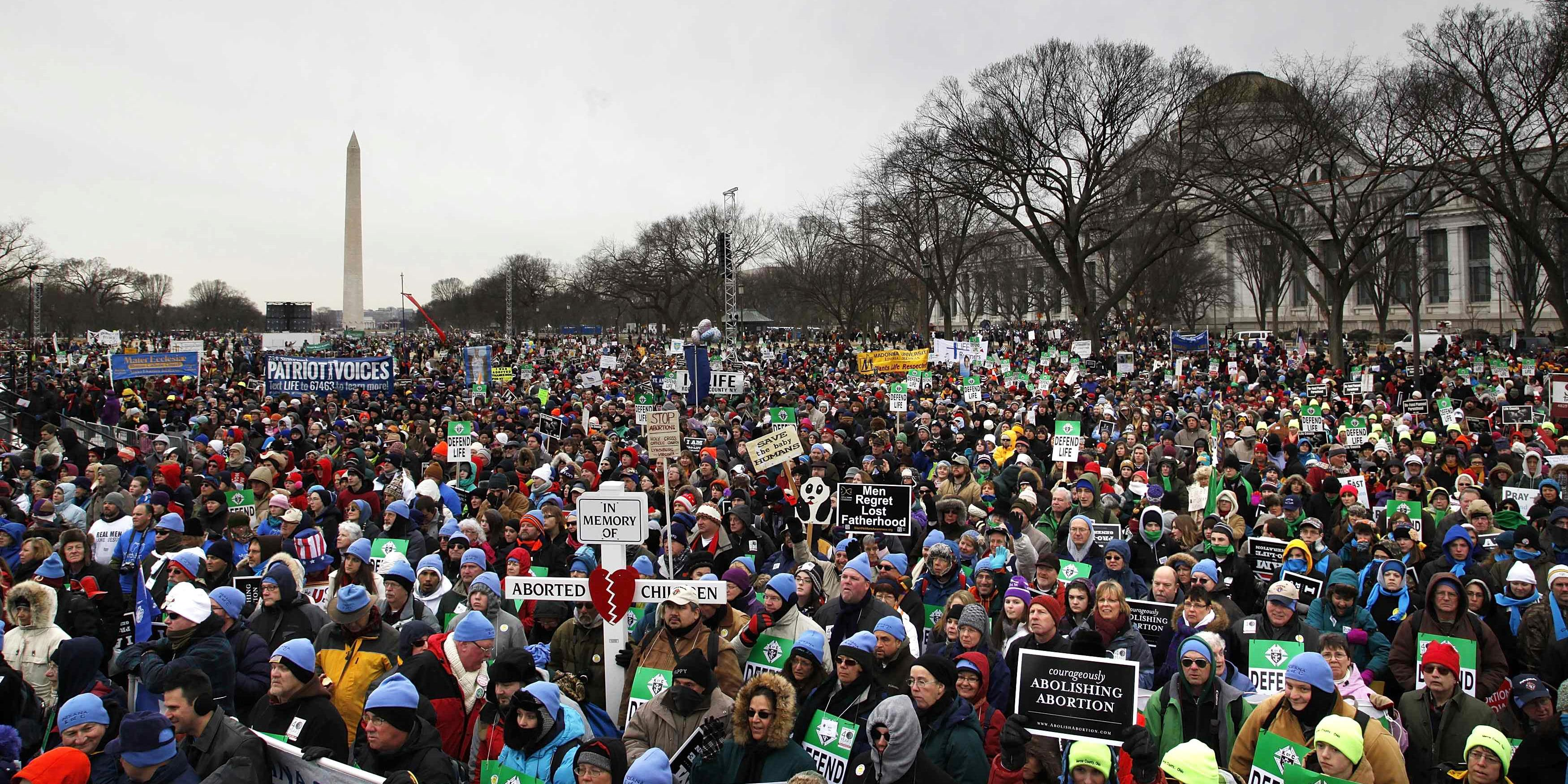 March For Life >> Size Of The March For Life De Civitate