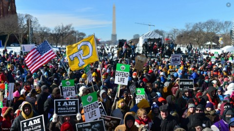 2014 March for Life (Nikki Kahn/The Washington Post)
